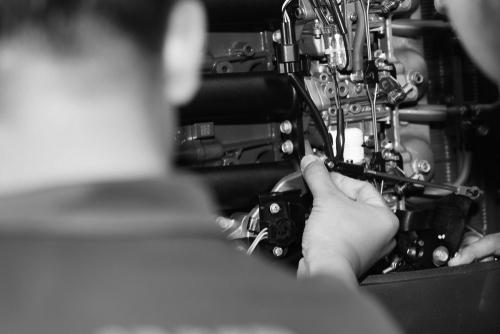 Wachttijden op technische bij storingen: een model